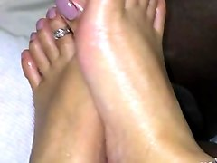 Footjob, Bid and tall mistress t footjob