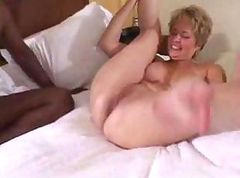 Black, Wife, Big black cock fucking virgin