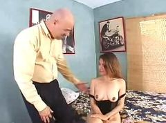 Homemade mature wife and husband on boat