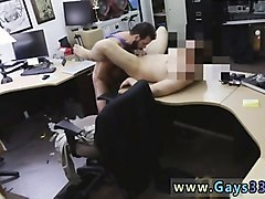 Ass, Young guy fucks blonde in the dressing room