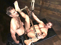 Tied and bound gagged by surprise