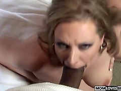 Daddy fucks daughter in front of mom