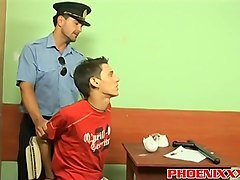 Office, Lady police officer seduce young hot