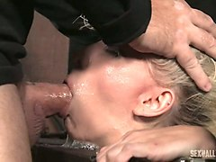 Bus, Blonde, Babe, Passed out drunk girl gets fucked by her colleague while in deep sleep