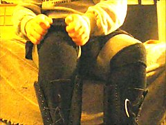 Boots, Upskirt, Teen, Tight, Boso upskirt pinay
