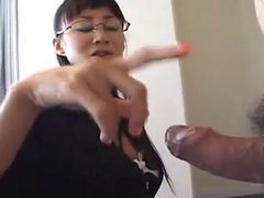 Asian, Handjob, Japanese, Secretary, German secretary seduced