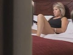Blonde, Masturbation, Cute, Mature masturbation jerk off instruction