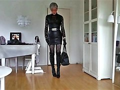 Leather, Wife wears every day skirt
