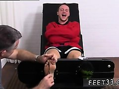 Teen, Feet tickled tied