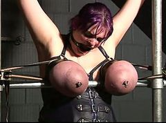 Tied, Big Tits, French maid tied up and fucked pain