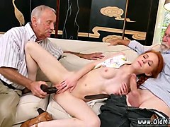 Old Man, Old man fucked by a naughty young slut black cock hd