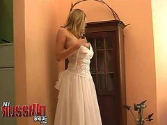 Bride, Russian, Wedding, Hungarian amateur