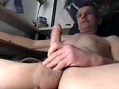 Masturbation, Jerking, Old Man, Masturbation on public