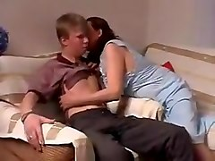 Russian, Russian amateur mother seduced