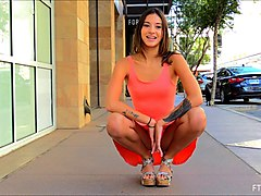Public, Dress, Shemale anais in a hot threesome part 3 of 3