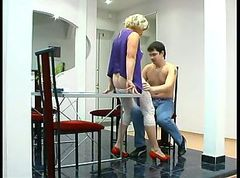 Seduced, Russian amateur fisted