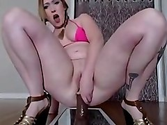 Anal, Chubby, Babe, Riding, Wife anal rides bbc
