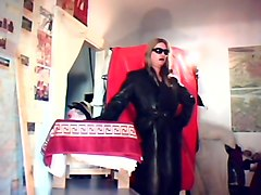 Leather, Mother xxx san in the home
