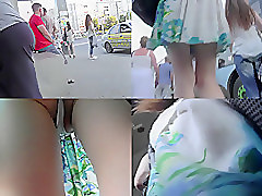 Upskirt, Ass, Uncensored g-queen japanese schoolgirl upskirt pussy