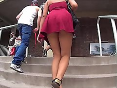 Ebony, Upskirt, Download upskirt videos