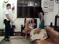 Husband, Wife, Wife catches husband fucking her sister