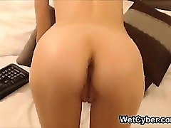 Ass, Young virgin girl cries when he goes in tight virgin pussy with cameltoe