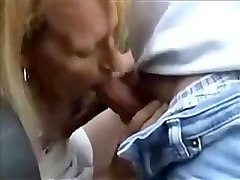 Dogging, Real horny dogging uk wife at a public toilet sucking guys off and swallowing spunk