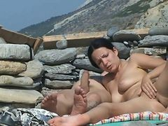 Couple, Beach, Beach orgy