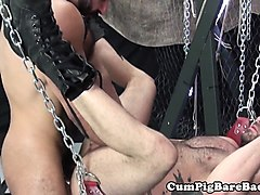 Anal, Leather, Sexy leather