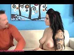Casting, Goth, Tattoo mutual instruct goth emo joi