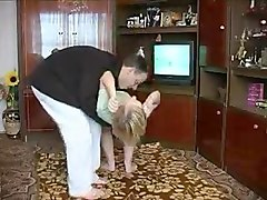 Russian, Russian dad fucking daughter homemade real sex