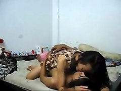 Student, Creampie wild group orgy at students