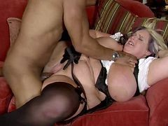 Maid, French maid tied up and fucked pain