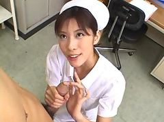 Asian, Small Cock, Nurse, Small cock versus big v