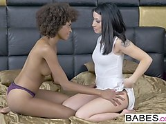 Babe, Brazzers - a blonde and a brunette having fun