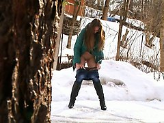 Teen, Russian, Drunk russian teen piss compilation on guy
