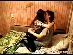 Asian, Kissing, Couple, Ass, Asian kinky cheating
