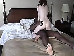 Amateur, Wife, Cuckold, Interracial, Real amateur homemade mature