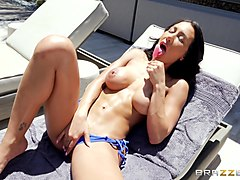 Husband, Milf, Young latina chick get fucked by older man