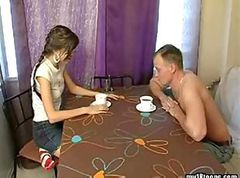 Russian, Real russian mom and son having sex