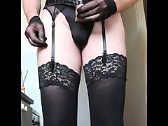 Amateur, Crossdresser, Dress, Teen cute crossdresser fucked