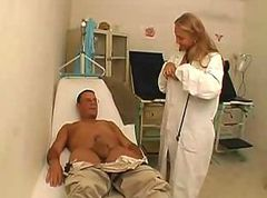Anal, Doctor, Teacher, Exam, Injection gyno exam after gets