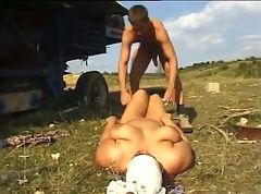 Hairy, Mature - russian hairy mom fucking anal son