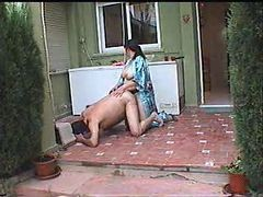 Amateur, Strapon, Strapon pegging homemade