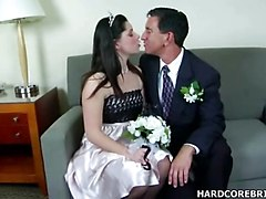 Blowjob, Wedding, Dp creampie