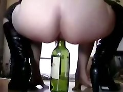 Anal, Bottle, Wife, Eat my pussy and make me squirt