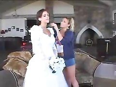 Wedding, Blonde bride in africa