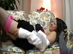 Hairy, Milf, Japanese tied blowjob