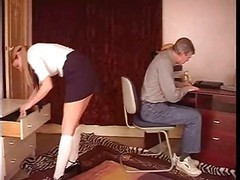 Panties, Uncle, Uncle and daughter squirting