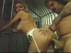 Milf, Jail, Handcuffed in jail